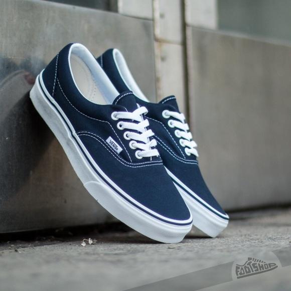 412b034dc1 Navy Blue Era Vans